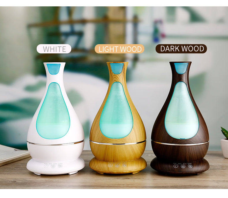 Wood Grain Air Essential Oil Electronic Aromatherapy Diffusers