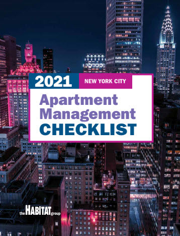 2021 New York City Apartment Management Checklist