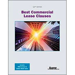 Best Commercial Lease Clauses, 12th Edition