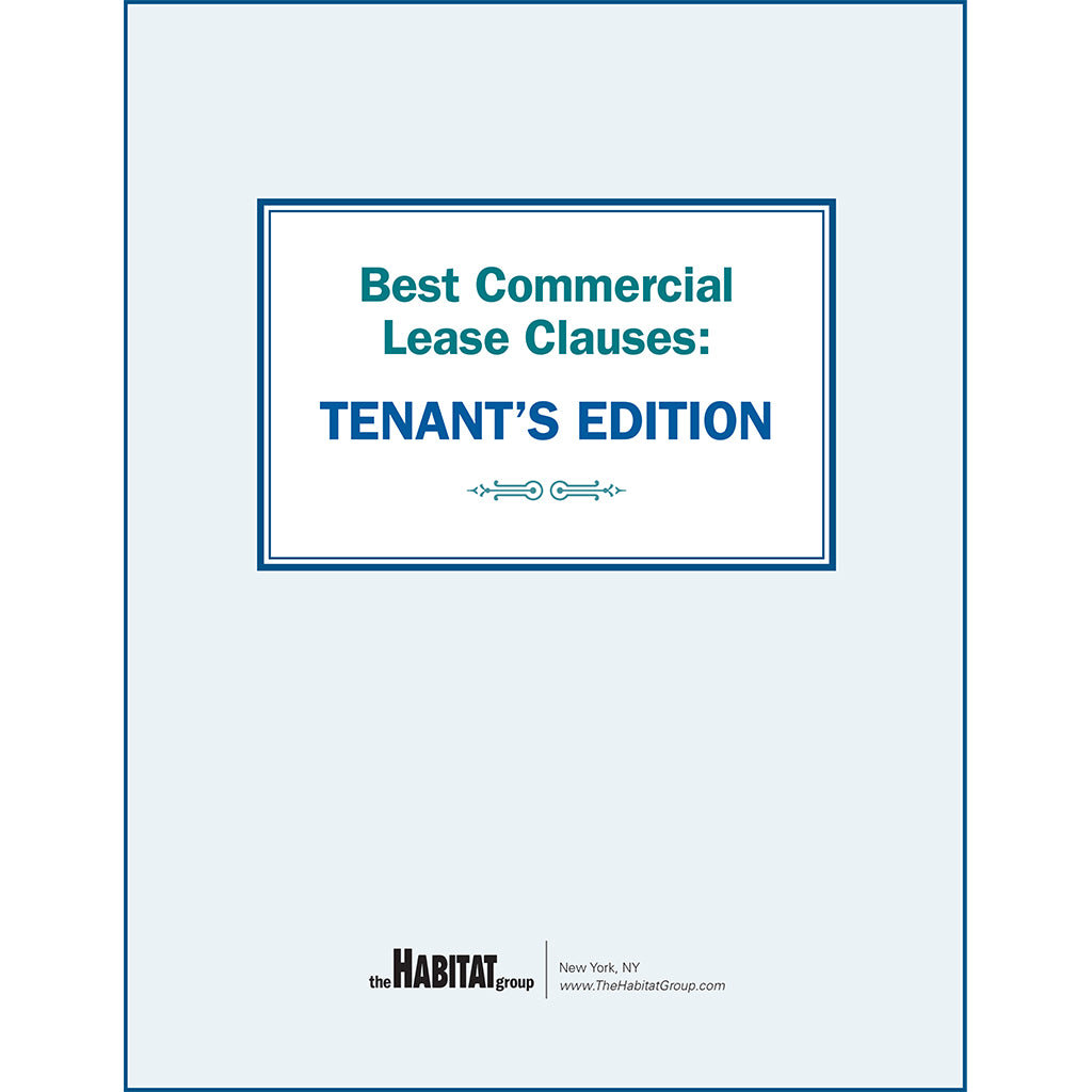 Best Commercial Lease Clauses: Tenant's Edition