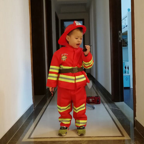 Kids Firefighter Costumes