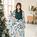 Autumn Ladies Pajama Set