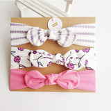 3Pcs Rabbit Ear Baby Headband