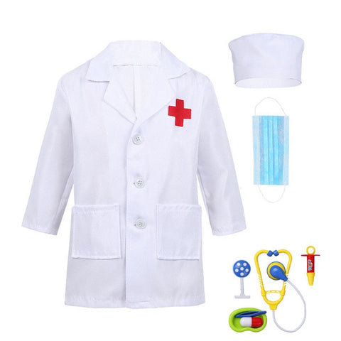 Children Boys Doctor Cosplay Costumes