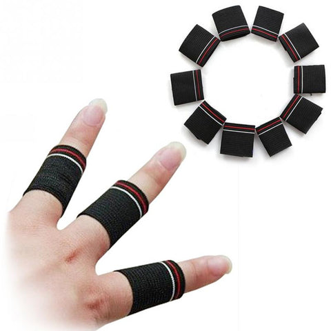 10pcs Sport Finger Splint Guard Bands