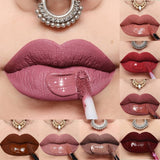 24 Color Lipsticks Matte Waterproof