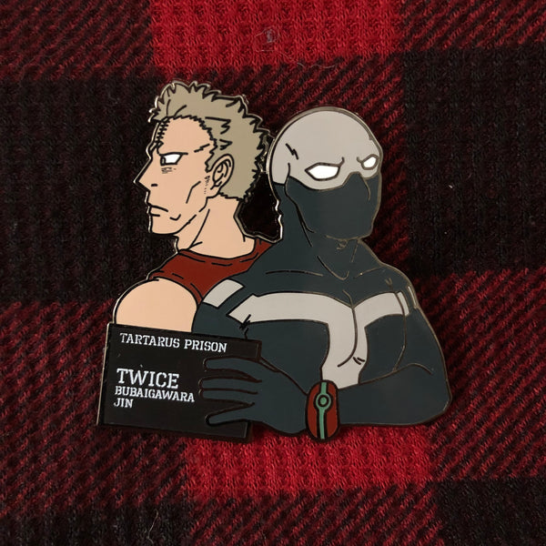 "1.8"" MHA Villains Hard Enamel Pin Collection - Twice"