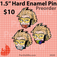 "1.5"" Pride 2020 Hard Enamel Pin Collection - Hawks"