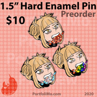 "1.5"" Pride 2020 Hard Enamel Pin Collection - Toga"