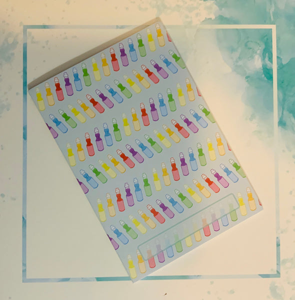 Rainbow Ramune Dotted Notebook