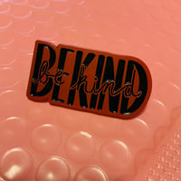 """Be Kind"" Enamel Pins"