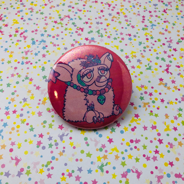 Decora Furby Round Button