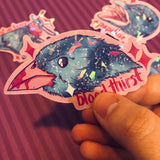 Freaky Creatures Holographic Stickers