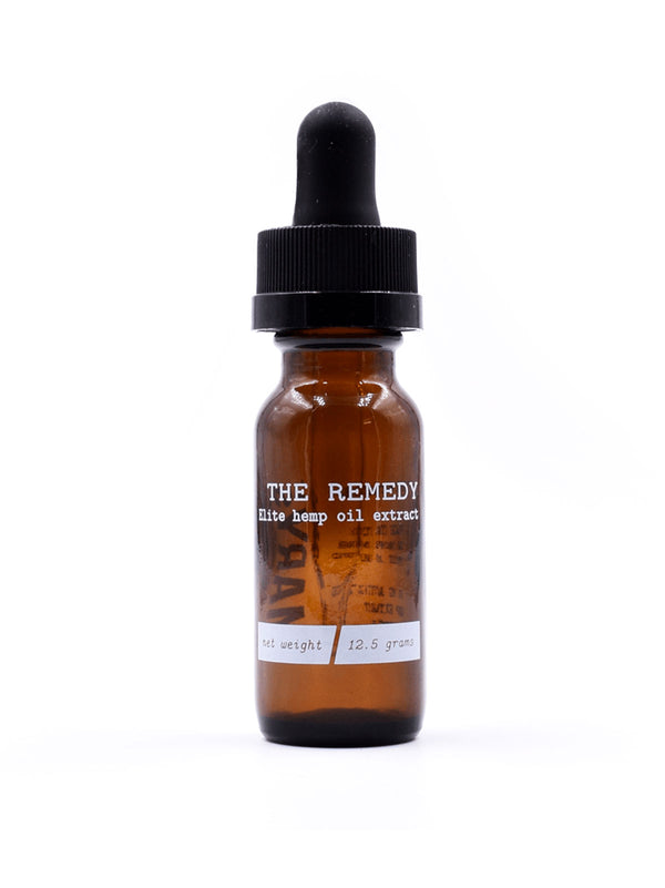 The Remedy Tinture Elite Hemp Oil
