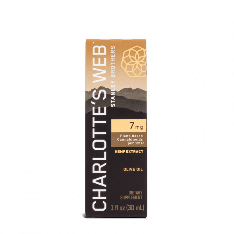 Charlotte's Web 7mg CBD Olive Oil 30ml