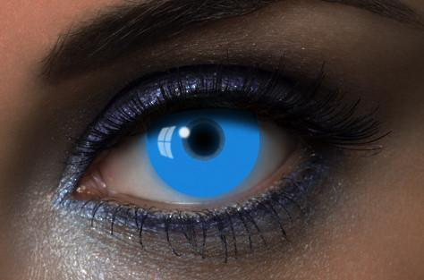 UV GLOW IN THE DARK COSMETIC CONTACT LENSES