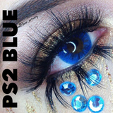PS2 BLUE.. VIVID BLUE 14 mm STUNNING !
