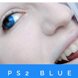 PS2 BLUE.. VIVID BLUE 14.5mm STUNNING !