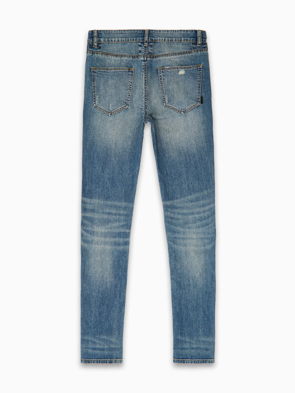 DIRTY DESERT INDIGO ULTRA SKINNY JAPANESE DENIM