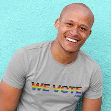 Load image into Gallery viewer, We Vote Pride T-Shirt