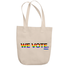 Load image into Gallery viewer, We Vote Pride Tote