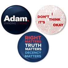 Load image into Gallery viewer, Adam Schiff for Congress 3-Button Pack