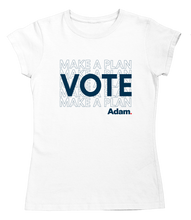 Load image into Gallery viewer, Vote Fitted T-Shirt