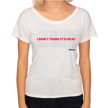 Adam Schiff for Congress I Don't Think It's Okay T-Shirt