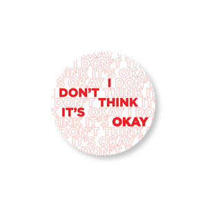 Adam Schiff for Congress I Don't Think It's Okay Sticker