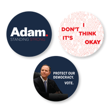 "Load image into Gallery viewer, Adam Schiff for Congress 3"" Sticker Pack"