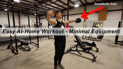 At-Home Workout With Minimal Equipment!