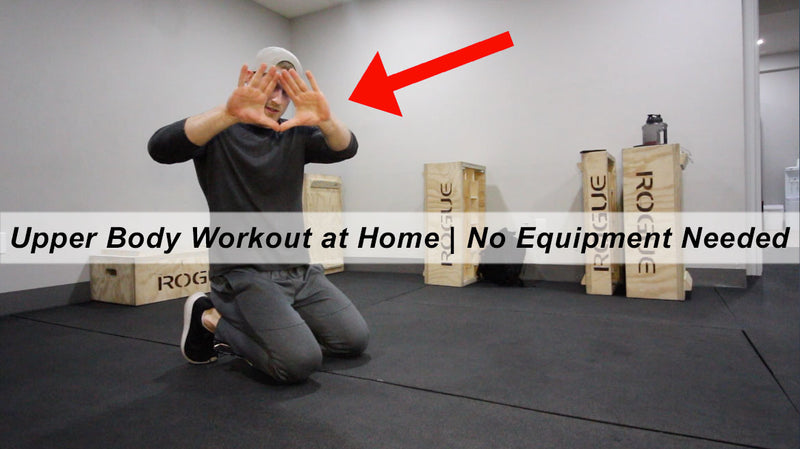 At Home Upper Body Workout - No Equipment Needed