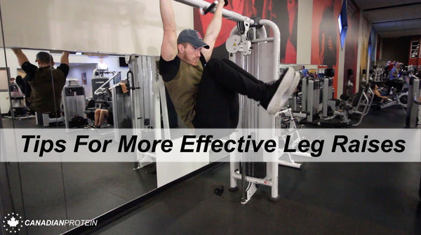 How to Properly Perform Hanging Leg Raises