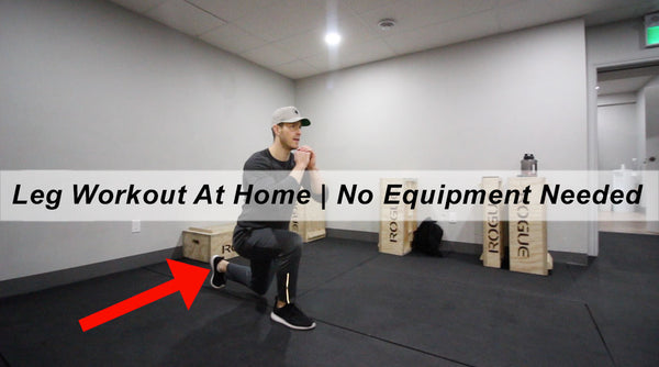 At Home Leg Workout - No Equipment Needed!