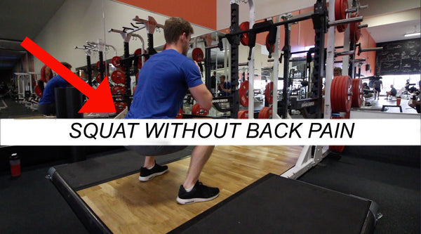 2 Tips to Squat Without Back Pain