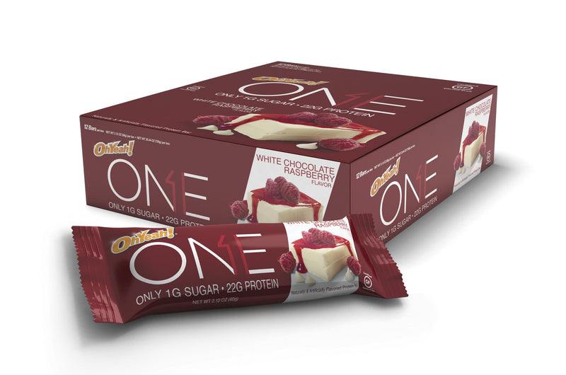 OhYeah! ONE Bars - White Chocolate Raspberry