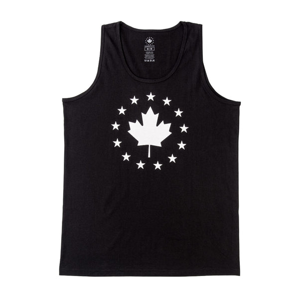 Signature Tank - Black w/ White Logo