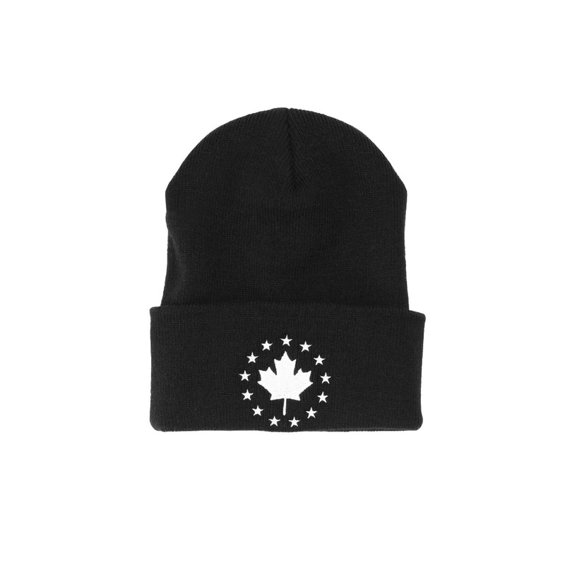 Signature Toque - Black with White Logo