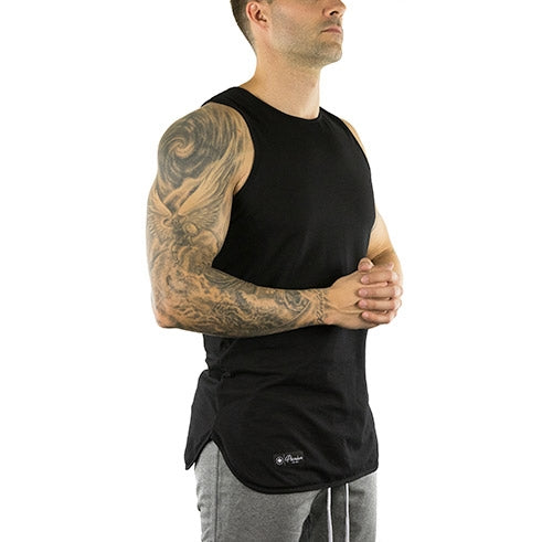 Extended Tank Top (Onyx Black)