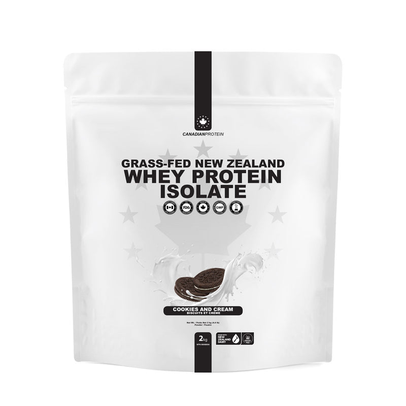 Grass-Fed New Zealand Whey Protein Isolate
