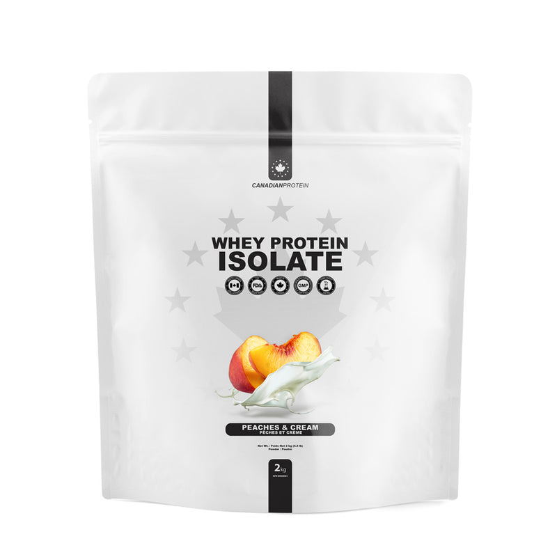 Limited Edition Peaches & Cream Whey Protein Isolate
