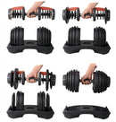 Adjustable Dumbbells (Sold Individually)