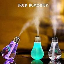Load image into Gallery viewer, Bulb Shaped Air Purifier Humidifier
