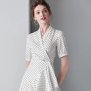 The 16 Most Stylish Polka Dot Dresses For Several Occasions