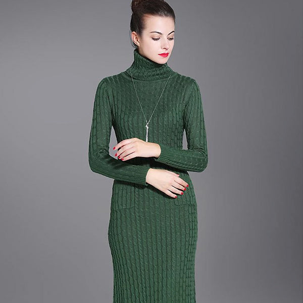 The 10 Chicest Sweater Dresses For Women