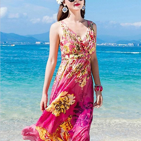 12 Stylish Beach Wedding Dresses For Guests