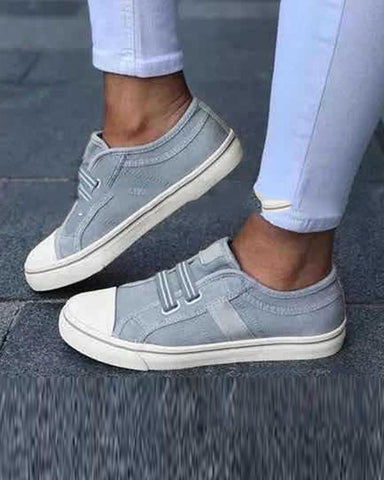 Casual Slip-On Flat Sneakers