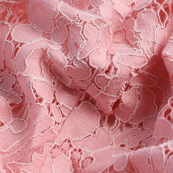 Summer Dress Cute Casual Dress Women Short Sleeve Pink Lace Vintage Dress Women Vestids