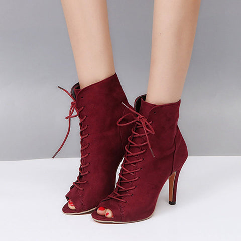 Fashion Suede Chic Woman Pumps