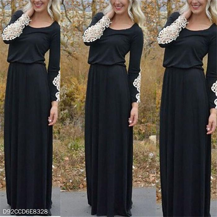 Long Sleeve Mopping Dress Dress